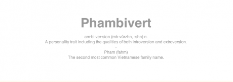New tumblr: phambivert.tumblr.com